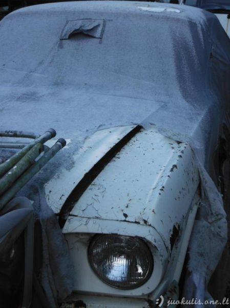 Masinės vintažinių automobilių kapinės