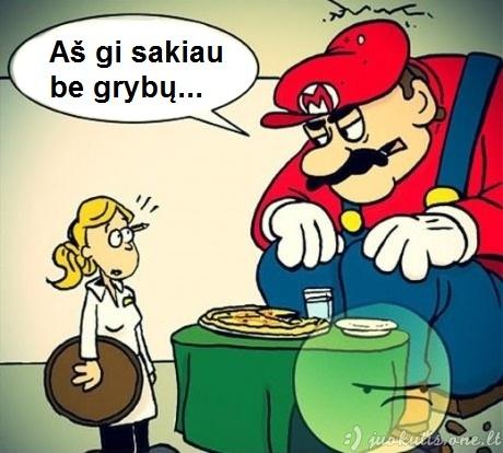 Mario sunkumai restorane