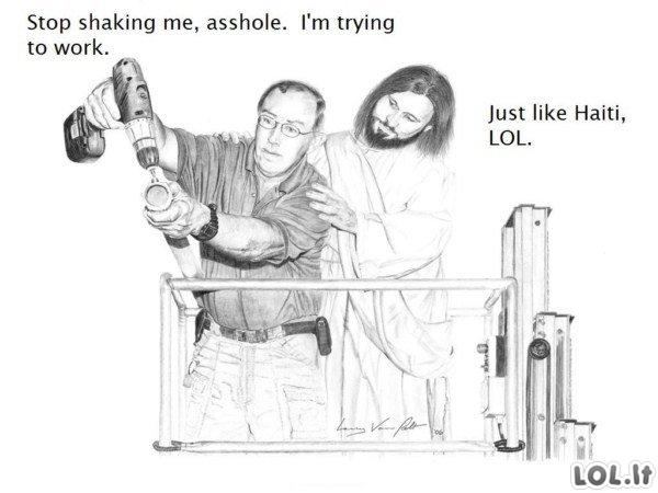 Jėzus Šiknaskylė (1 dalis)