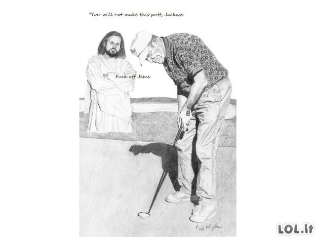 Jėzus Šiknaskylė (2 dalis)