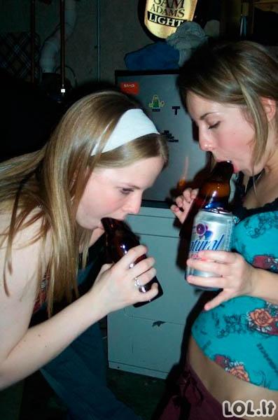 Mergos ir alus