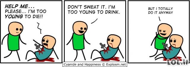 Aš per jaunas mirti