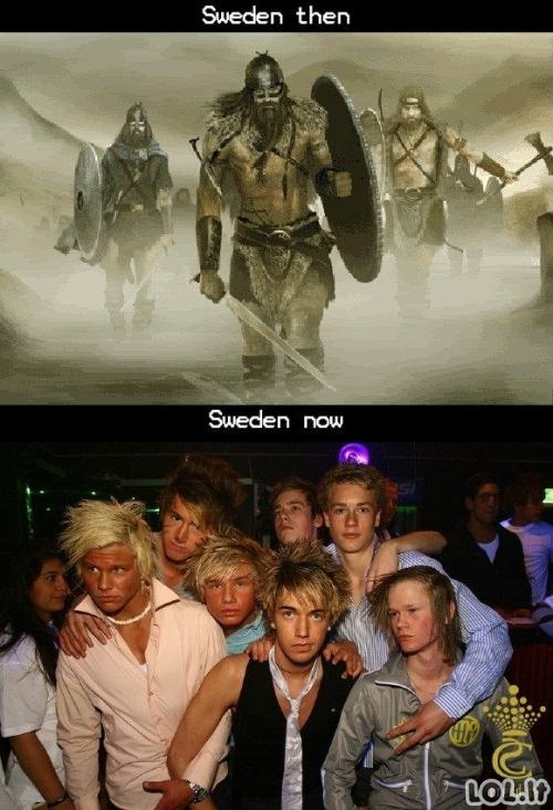 Švedų evoliucija
