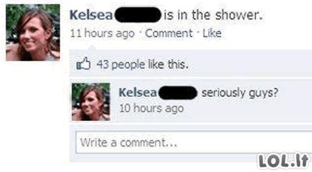 Facebook klaidos