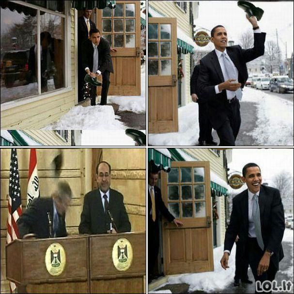 Obama vs Bushas
