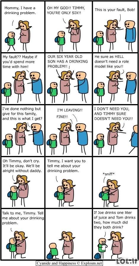 Gėrimo problemos