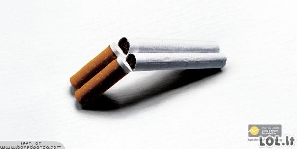 Pamatę tai, mesite rūkyti