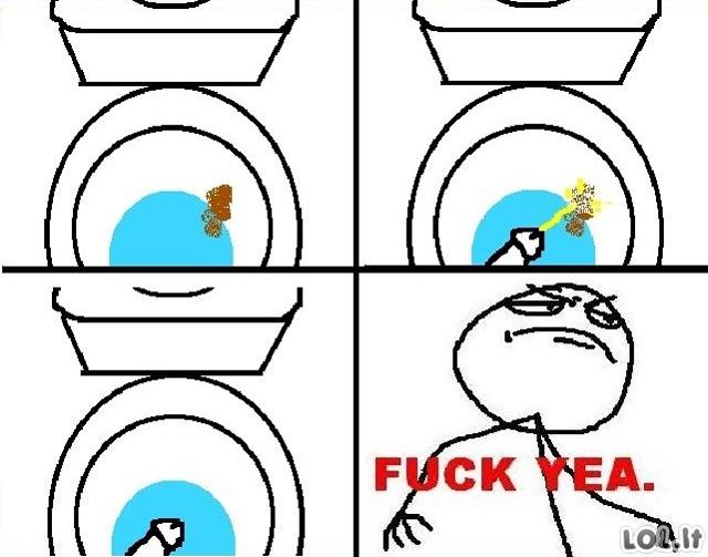 Tualeto valymas