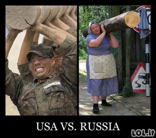 JAV vs Rusija