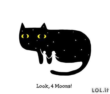 Keturi mėnuliai