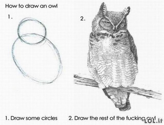 Lengvas būdas išmokti piešti