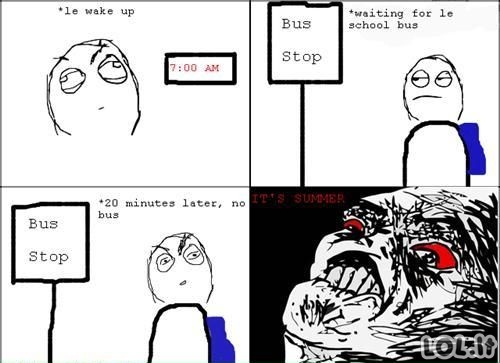 Mokyklinio autobuso belaukiant