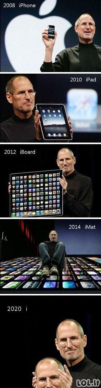 Apple evoliucija