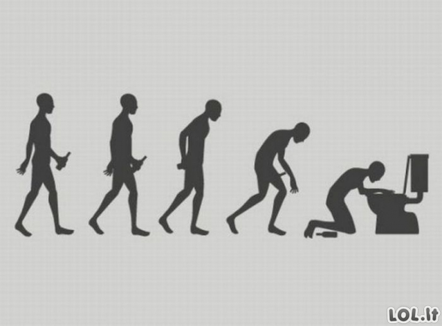 (r)Evoliucionuojam!