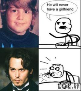 Jis niekad neturės merginos