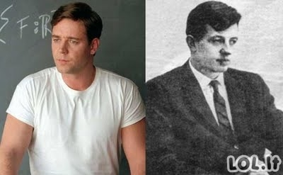 Aktoriai ir jų įkūnyti neišgalvoti personažai