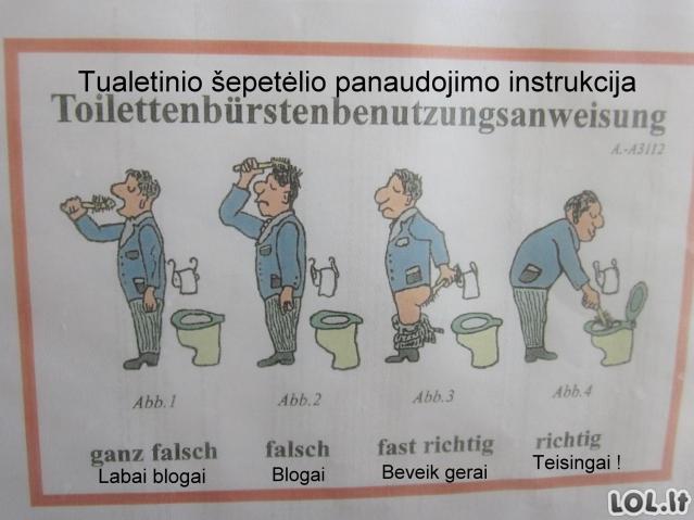 Vokiški tualetai
