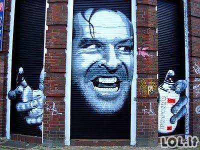 Gatvės menas teisingose vietose