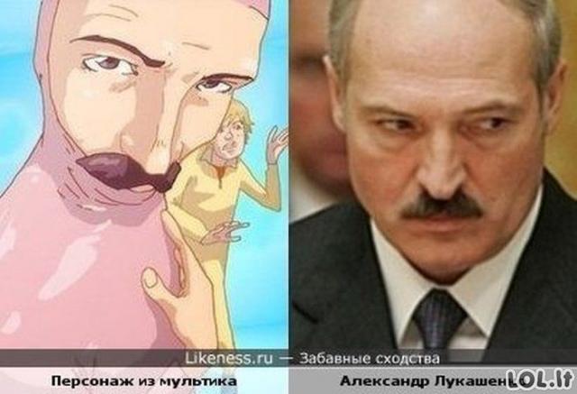 Nesveikai panašūs rusai