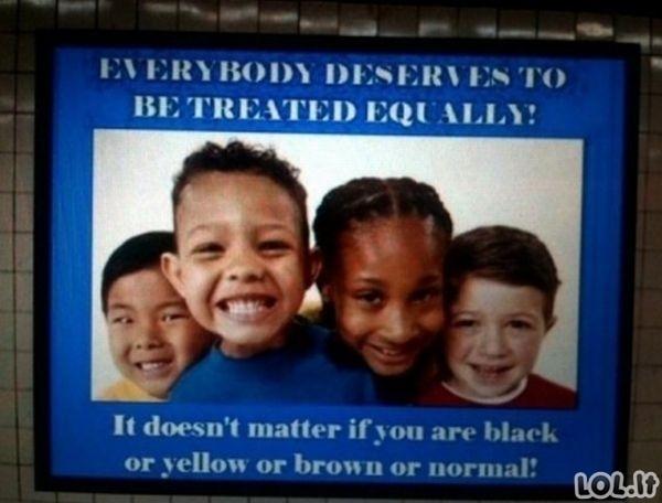 Netyčinis rasizmas