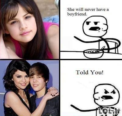 Ji niekad neturės vaikino!