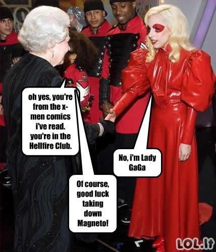 X-Lady Gaga