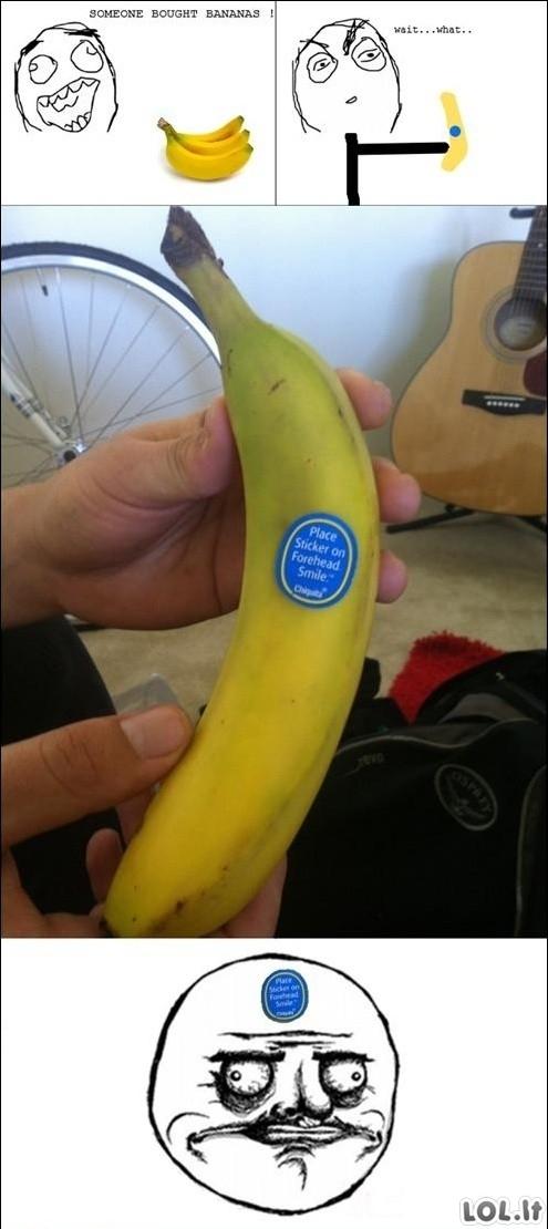 Mėgstamiausia banano dalis
