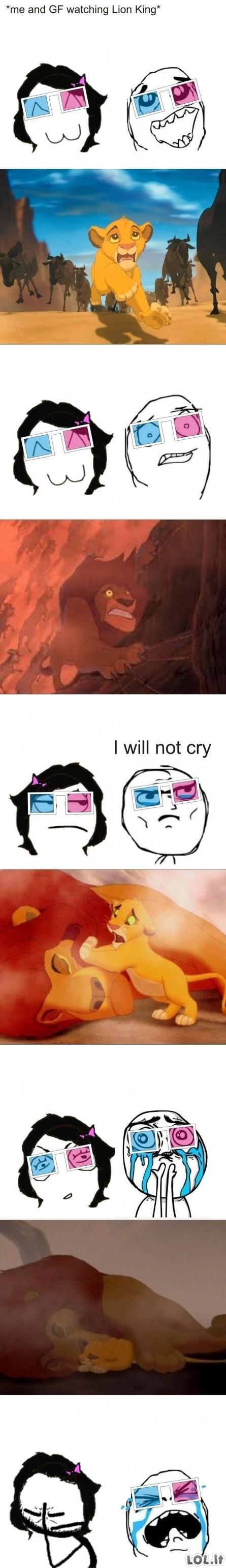 Liūdnoka scena