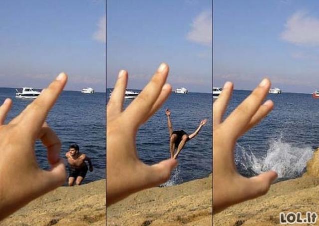Fotkės su gera perspektyva