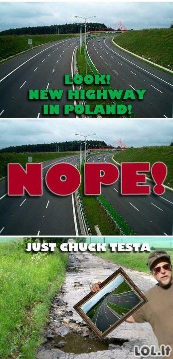 Lenkiški keliai