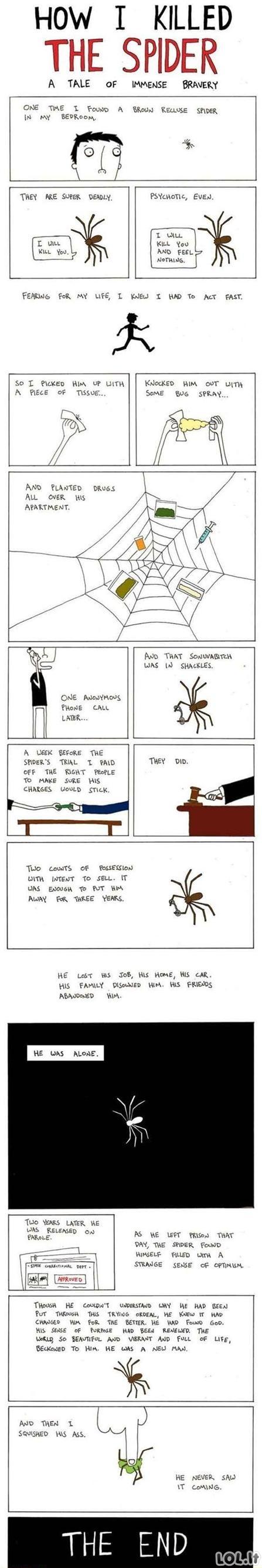 Kaip aš nužudžiau vorą