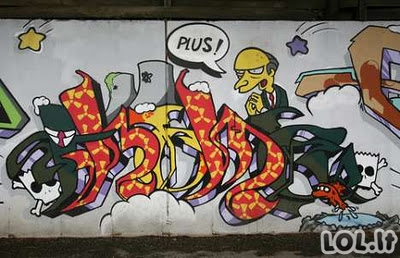 Simpsonų graffiti
