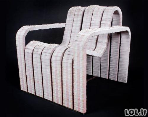 Šiukšlių baldai