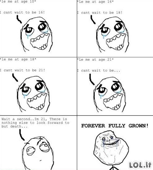 Amžinai suaugęs