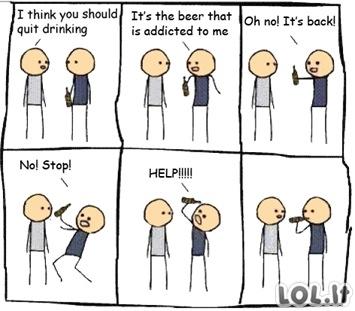 Įkyrus alus