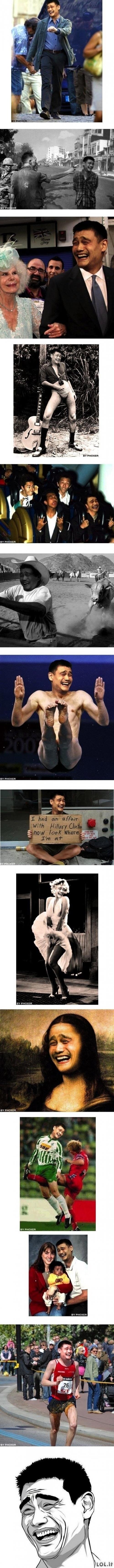 Yao yra visur