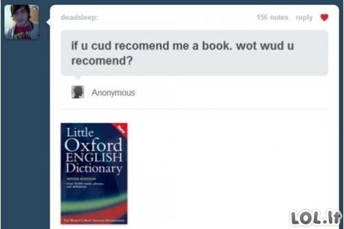 Rekomenduojama knyga