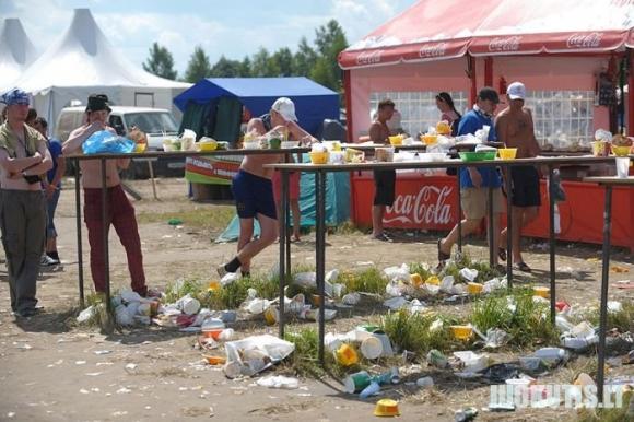 Vaizdai po gero festivalio rusijoje