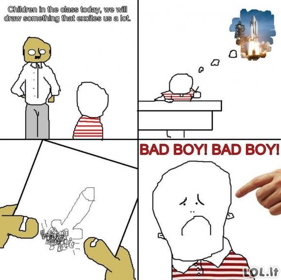 Blogas berniukas