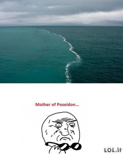 Kai vandenynai susitinka