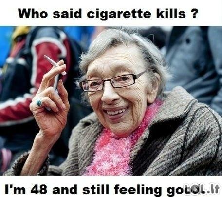 Rūkymas žudo?
