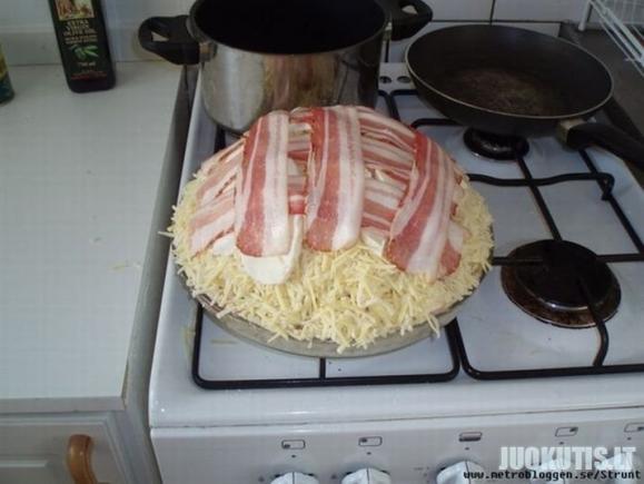 Kaip paruošti plonapadę pica?