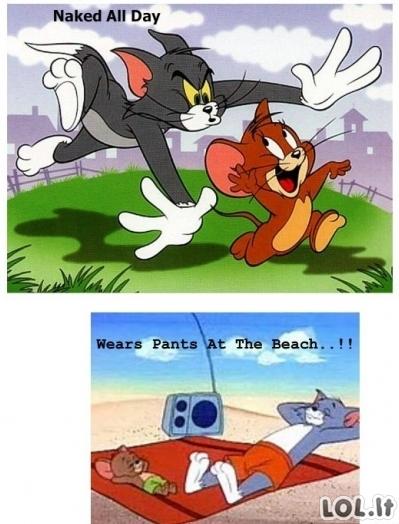 Tom & Jerry logika