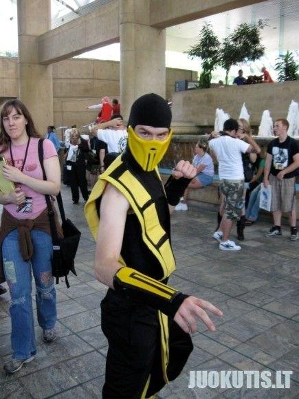 Mortal kombat live