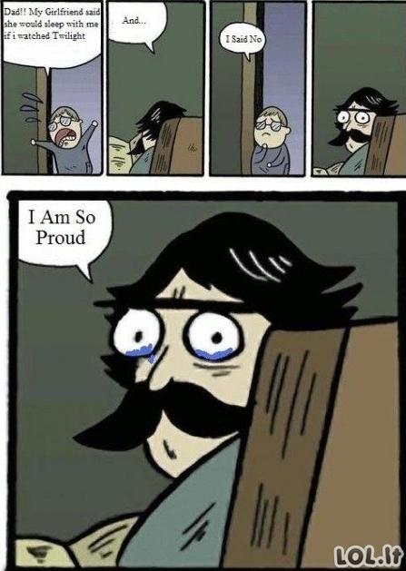 Tėčio pasididžiavimas