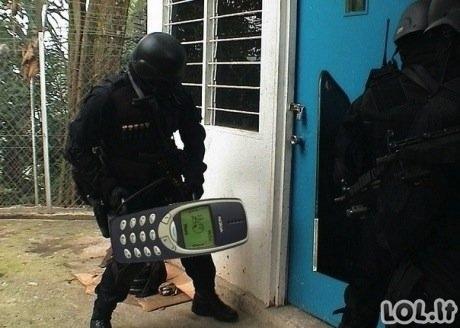 Atidarykite, policija!