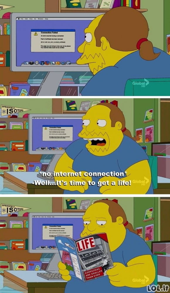Gyvenimas be interneto
