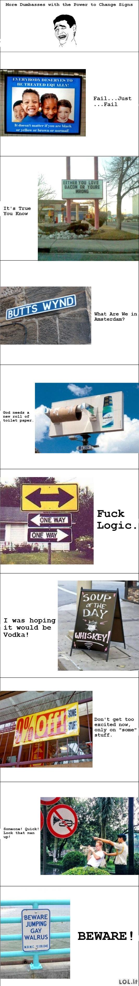 Įtartini ženklai