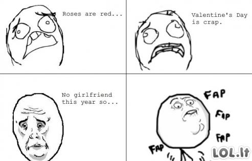 Valentino dienos poezija