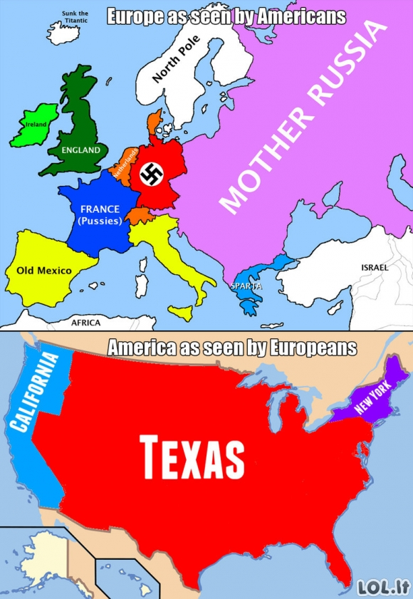 Europa prieš Ameriką